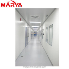 metal stud wall construction in cleanroom,kitchen,office