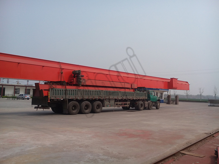 Steel Workshop 8 ton Portable Single Girder Overhead Bridge Cranes