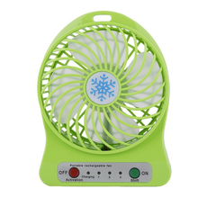 Wholesale Electric led light flexible li-ion battery desktop pocket mini fan for office room