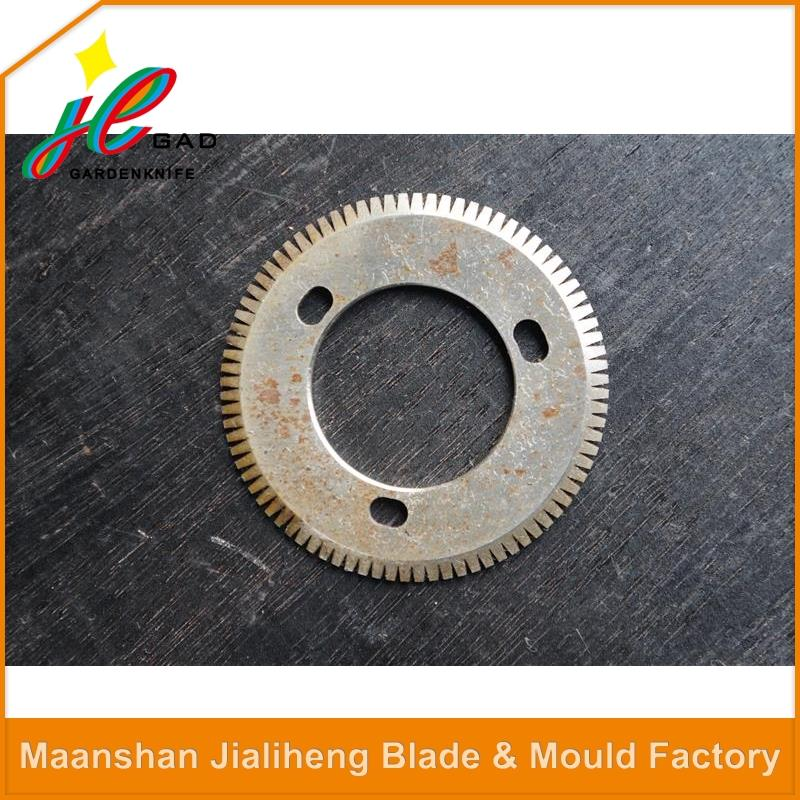 Top seller high quality pipe machine cutting bladeround blade for swing saw