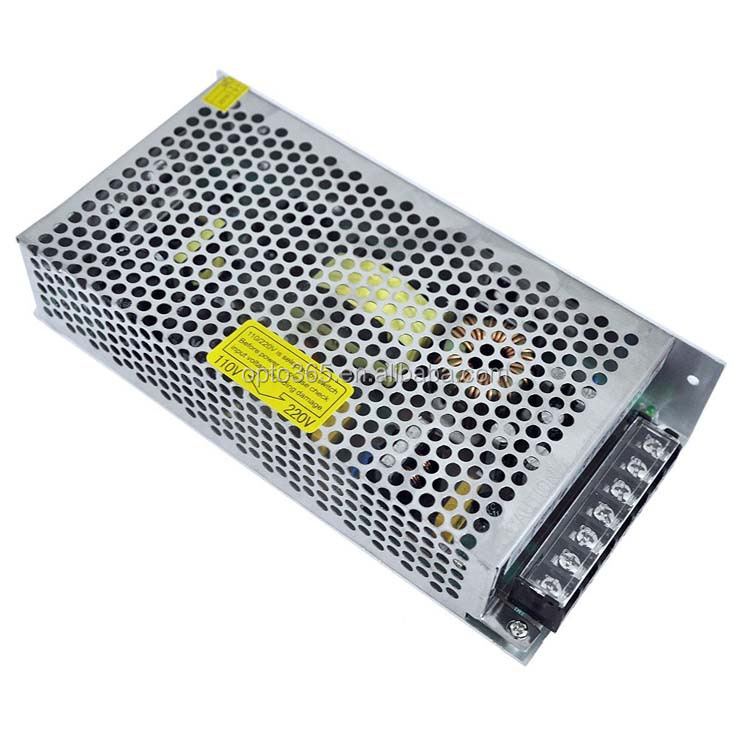 S-200-12 low noise industrial grade 12V 200W AC DC switching power supply 12V 16.5A 200w