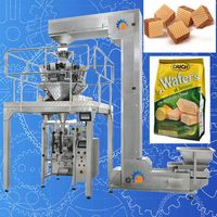 Quad Seal Bag Wafer Packing Machine