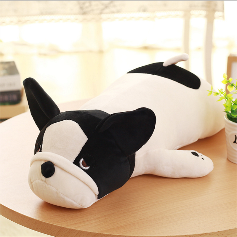 2017 Custom animal plush toy cute bull terrier dog plush stuffed toys