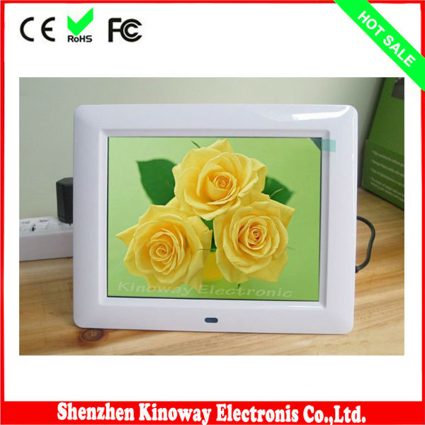 8 inch digital photo frame MP4 hot video free download