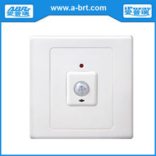 Infrared motion sensor switch with time delay