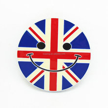 DSC06184 fashion custom women western cowboy England Flag belt buckles for sale