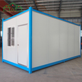 Sandwich panel steel structure pre-made container house for sale