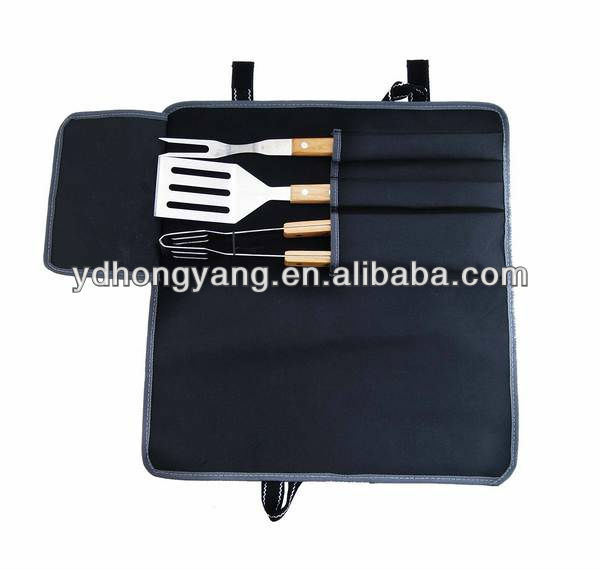 wooden barbecue tool