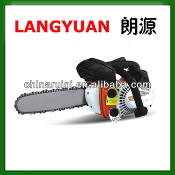 "Good quality 1.2hp gasoline home use small chain saw 12"" chainsaw"
