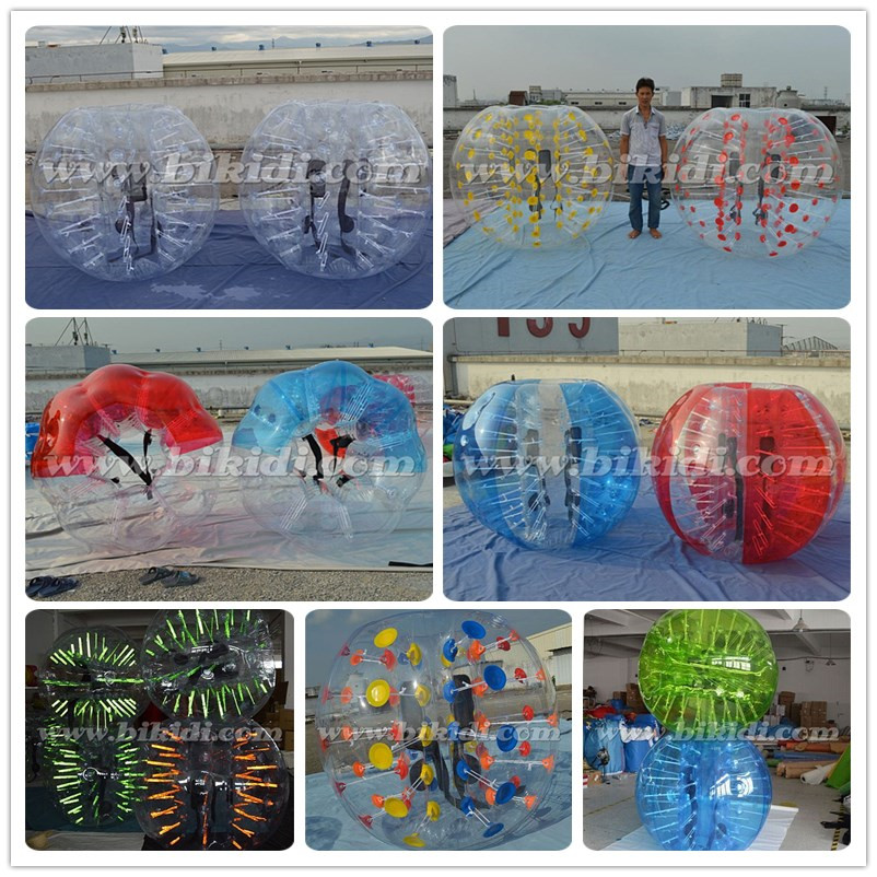 Wholesale bubble knocker ball/ bubble soccer ,bumper ball rent, inflatable knock ball