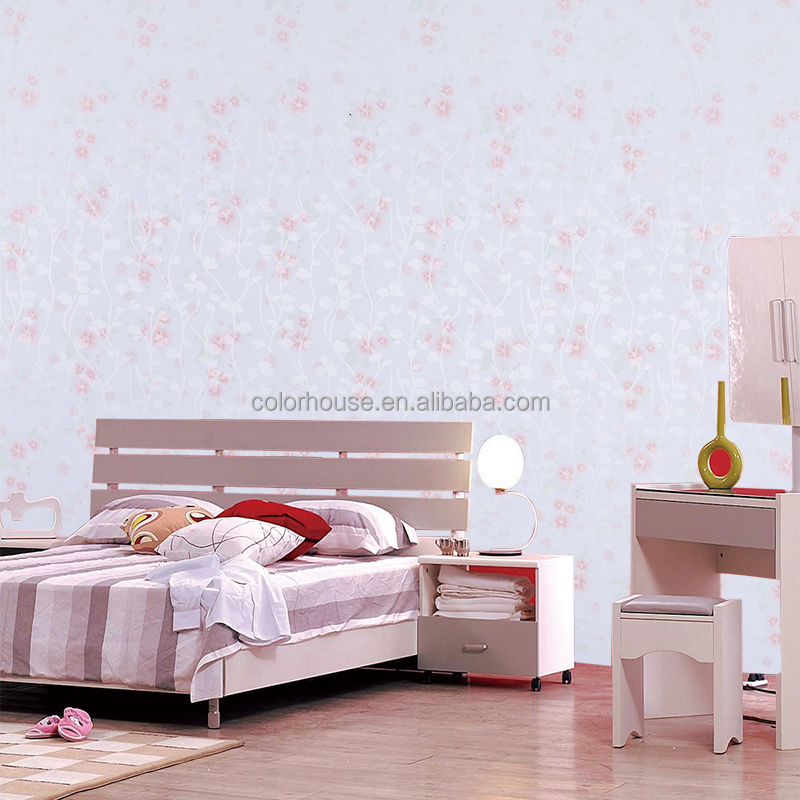 elegant flower style laminated wallpaper decor in wallpapers/wall coating