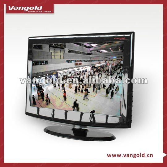 CCTV 19'' Monitor with Built-in 8-Ch Pentaplex Real Time Network DVR VG-H31908
