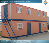 Smiple design resist-cold modular self contained container house