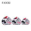 FANXI Nice Wholesale Mickey Mouse Gift Packing Paper Boxes With Lid Various Sizes Heart Shaped Box