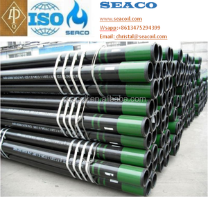 "2 3/8"" to 13 3/8"" API 5CT Casing and Tubing K55/J55/N80/L80/P110 Steel Casing Pipe with premium thread"