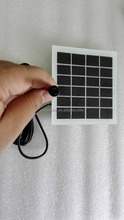 2W 6v mono/poly solar panel outdoor mini solar panel without frame