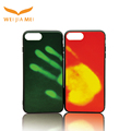 Factory direct supply thermoinduction color changing thermal phone cases for iphone