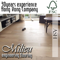 Ash floor - Milieu Timber Solid engineering Flooring FSC VOC E0 interior design - Plank UV Laquer coat wood timber Wood Wax