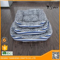 Wholesaler Slipper Heated Pet Bed dog bed luxury