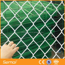 powder coated chain link fence&9 gauge chain link wire mesh fence&roll chain link fence