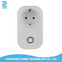 EU Standard Wall Wireless Power Socket Wifi Socket Wireless Socket