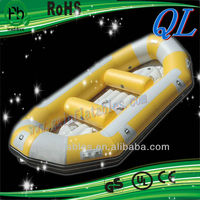 2012 (Qi Ling) hot selling inflatable boat for relax