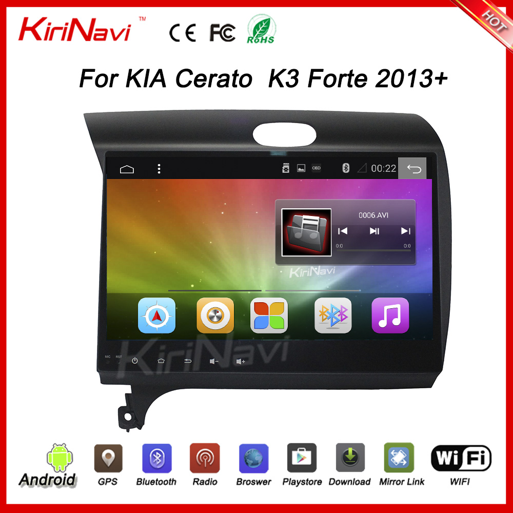 "KiriNavi WC-KK1053 10.2"" Android 6.0 multimedia system for kia k3 radio 2013 + Wifi 3G"