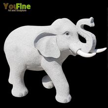 Natural Stone Granite Elephant Statue for Sale