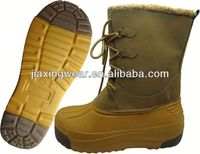 New Injection name brand fur boots for outdoor and promotion,light and comforatable