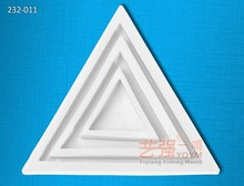silicone chocolate mould triangle base,sugarcraft decorating tools,silikon mold triangle