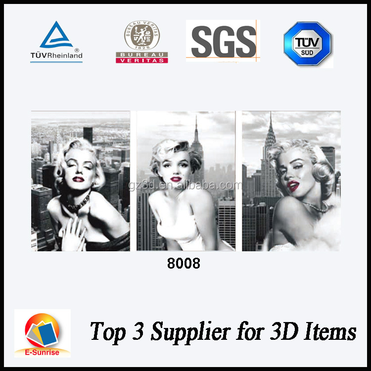 hot girl sexy picture 3d printing service factory offered 3d poster