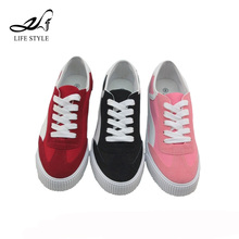 New Models Sports Zapatos Deportivos Casual Canvas Flat Shoes For Ladies