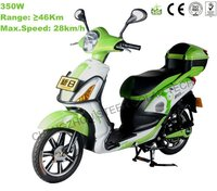 Hot sale SUNRA Electric motorcycle with pedal 28km/h 350W