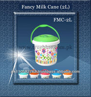 FMC-2L printed square high quality plastic bucket