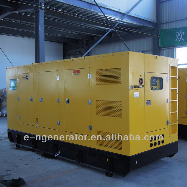 Powered by Cummins engine KTA19-G2 generator sets 336kw/420kva 50Hz