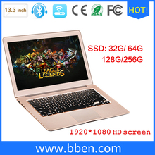 Instore 13.3inch laptop SSD 512G win10 Intel I3 I5 I7 msi notebook computer