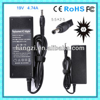 ac input dc output charger circuit 19v 4.74a for toshiba laptop adapter