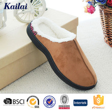 Wholesale china winter man outdoor slippers