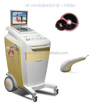 Hospital breast treatment instrument system