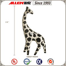 "11.8"" factory direct ceramic giraffe figurine decor, wholesale ceramic giraffe"