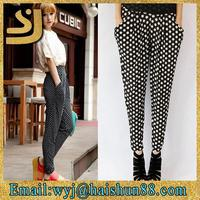 new design capri pants harem pants for girls ,korean fashion women harem pants