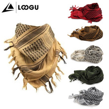 Loogu Best Quality Arab Style Tactical Camo Military Neck Face Army Shemagh Scarf For Man