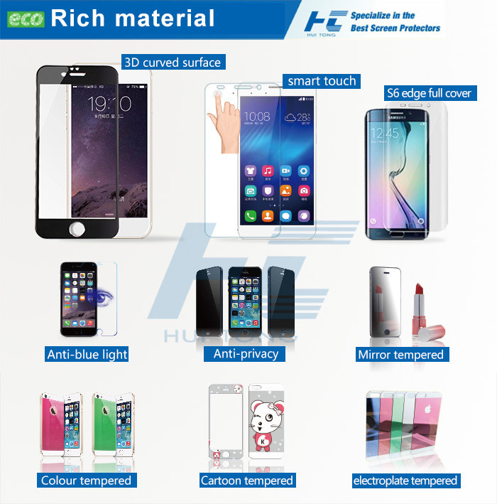 For Samsung Galaxy S9 Plus Screen Protector, Full Coverage Premium Tempered Glass for Samsung S9 Screen Protector