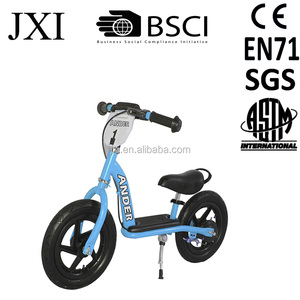 12 inch Wheels Easy Ride Steel Frame Balance Running Kid Bike for Boys and Girls