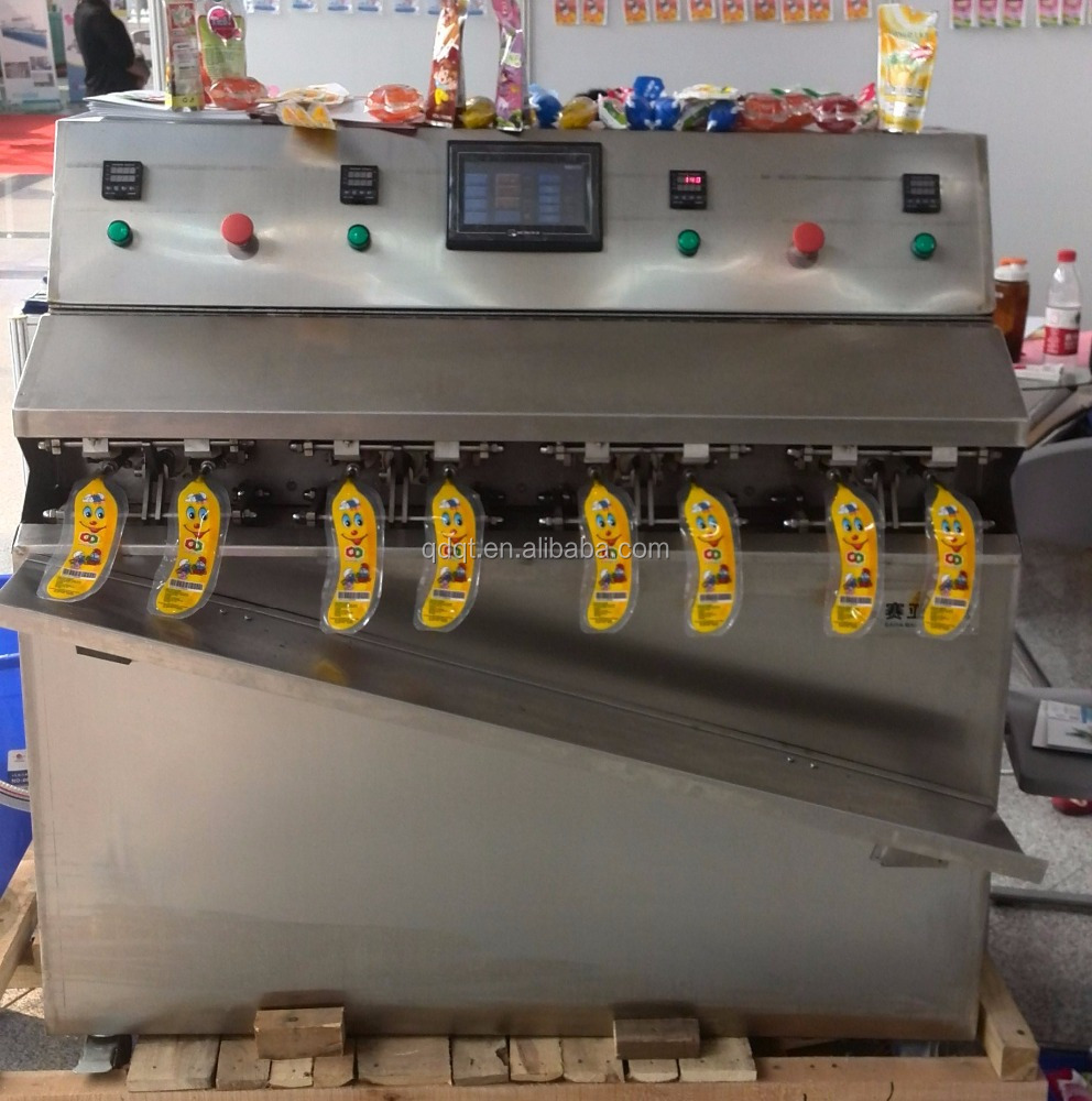 Liquid expansion fruit bag filling machine