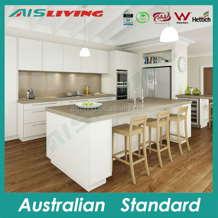 AIS KC-112 kitchen bar counter designs wood kitchen cabinet made in Guangzhou