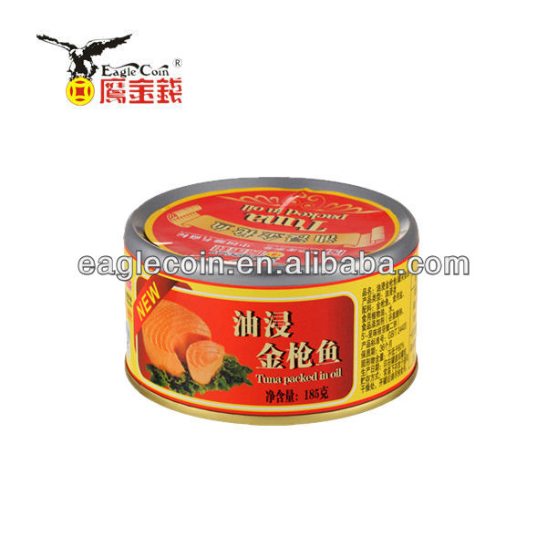 185G Time-honored brand Canned Tuna in Vegetable Oil