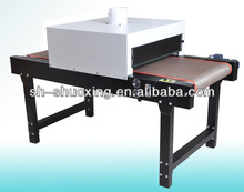 Small conveyor dryer, conveyor drying machine for t shirt
