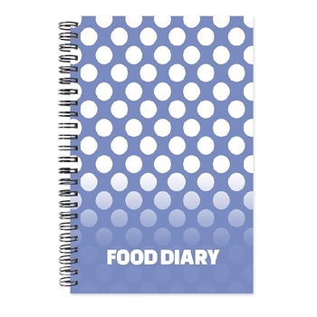 Customized With Your Design Fitness Food Diary
