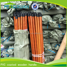 House cleaning tools 120*2.2cm plastic cover wooden brush pole